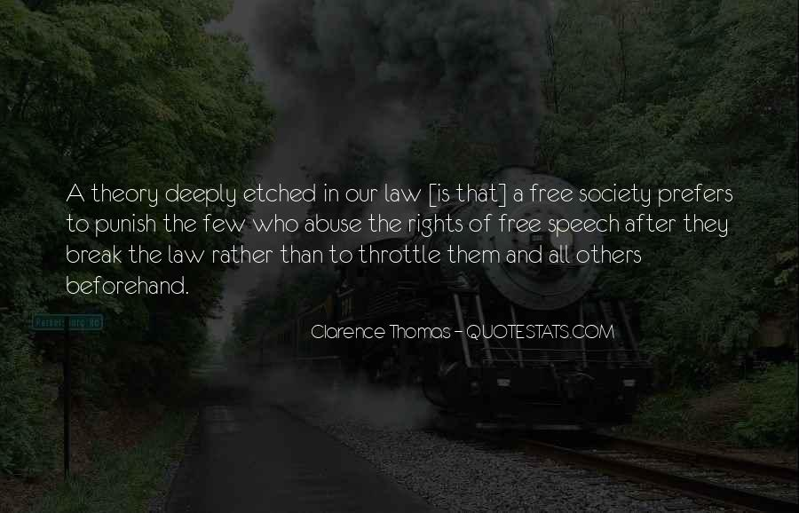 Quotes About Clarence Thomas #1023542