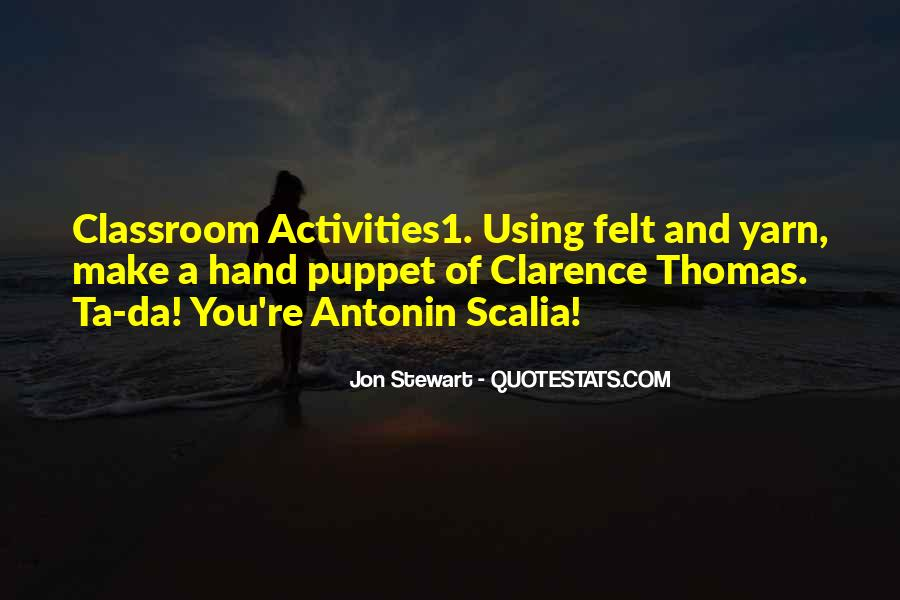 Quotes About Clarence Thomas #184847