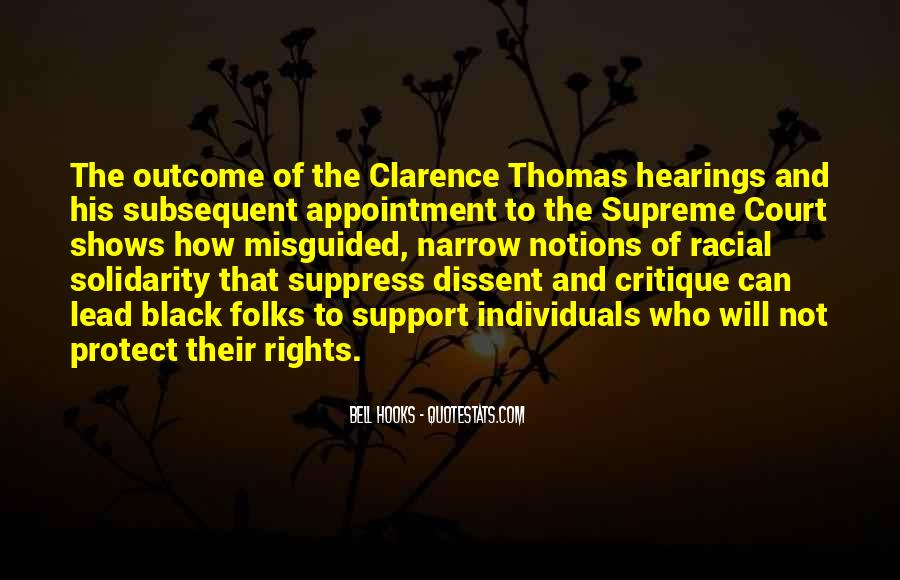 Quotes About Clarence Thomas #361687