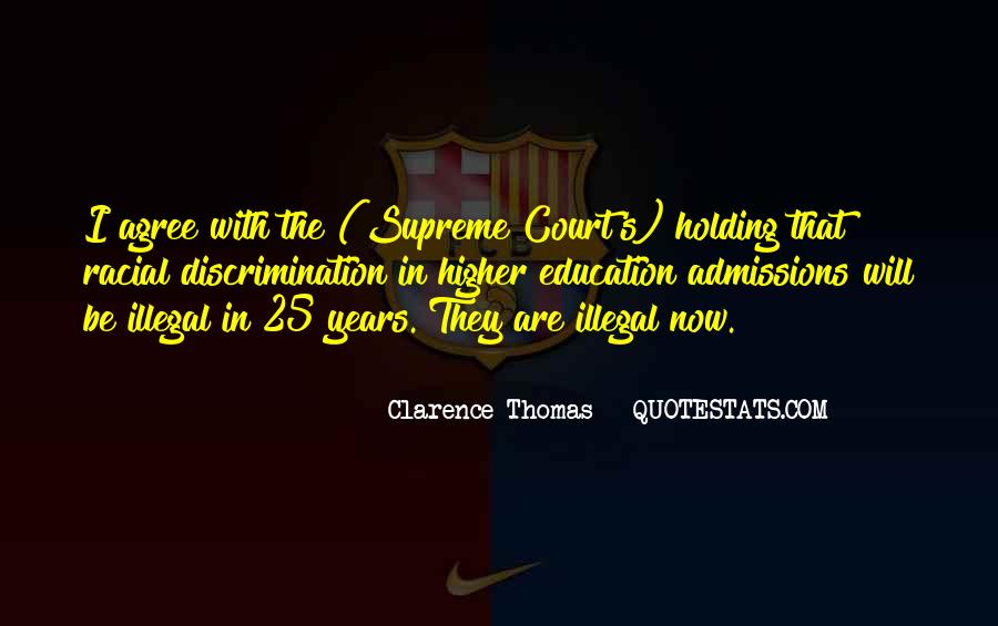 Quotes About Clarence Thomas #414515