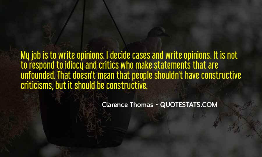 Quotes About Clarence Thomas #535867