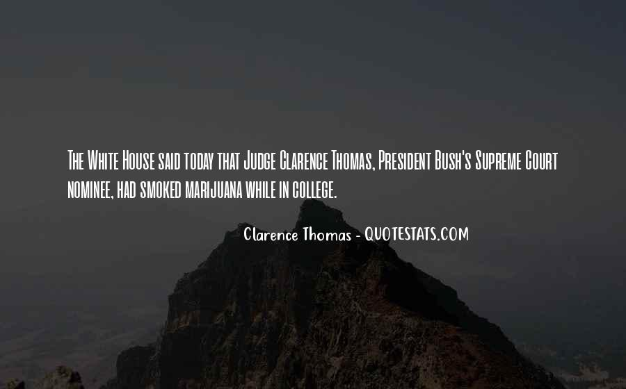 Quotes About Clarence Thomas #561292