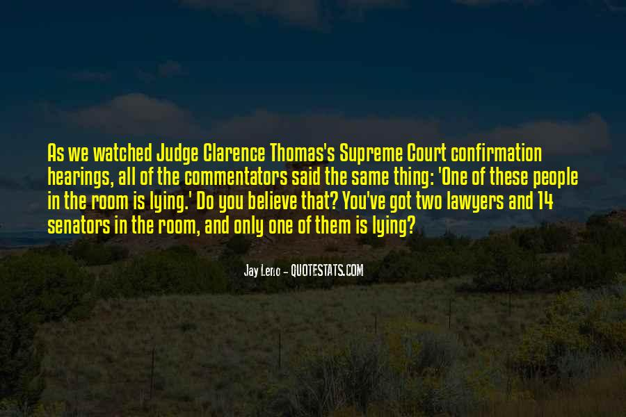 Quotes About Clarence Thomas #59923