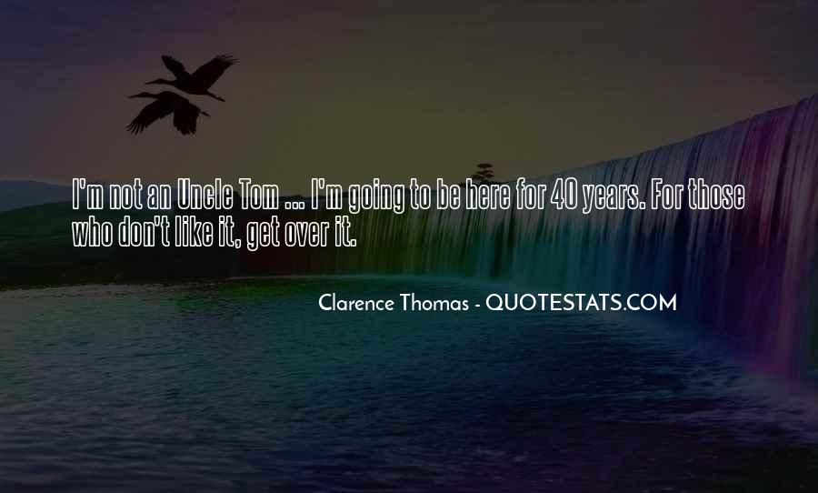 Quotes About Clarence Thomas #691468