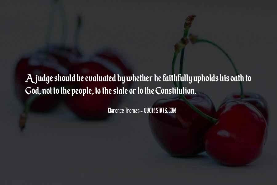 Quotes About Clarence Thomas #968844