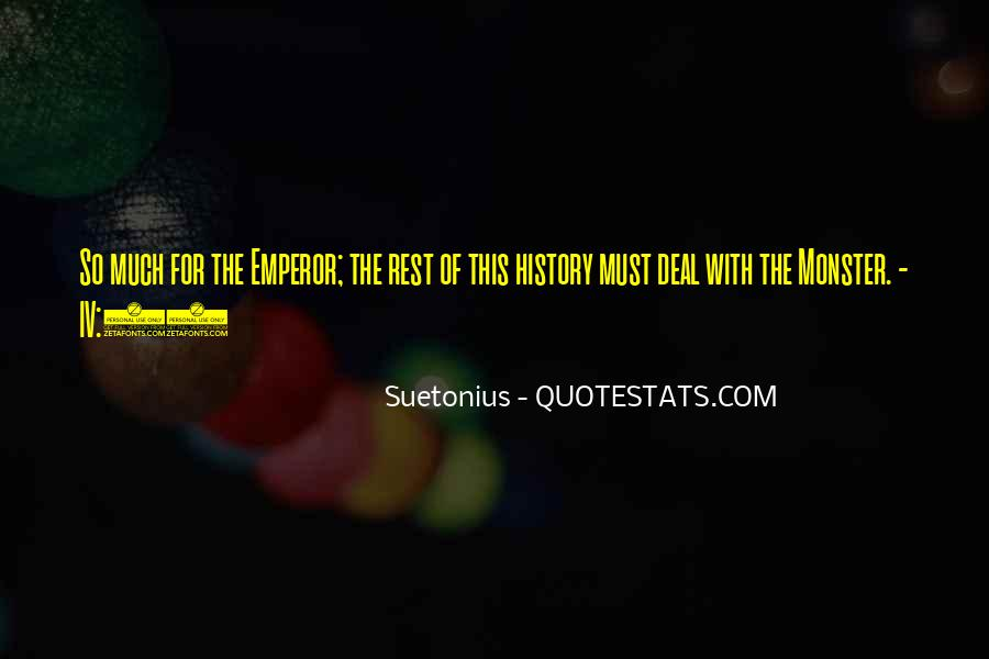 Quotes About Caligula #138694
