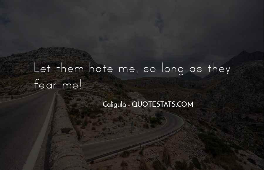 Quotes About Caligula #1528789