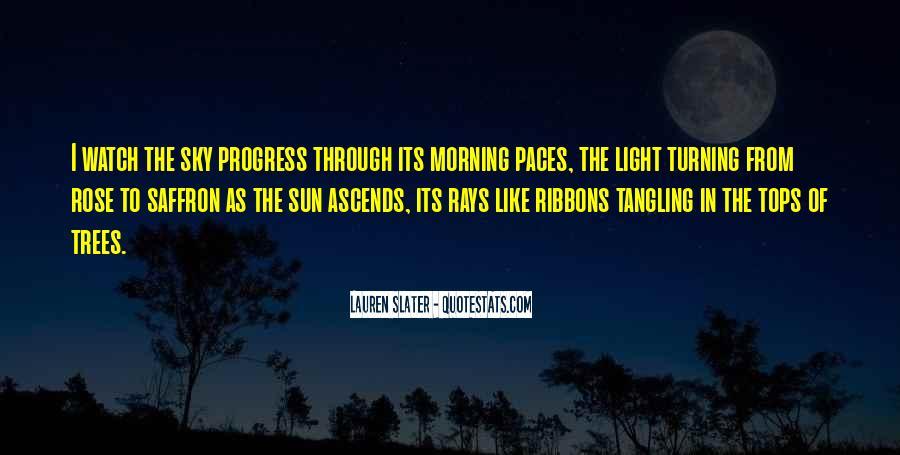 Sun Rays Through Trees Quotes #1180764