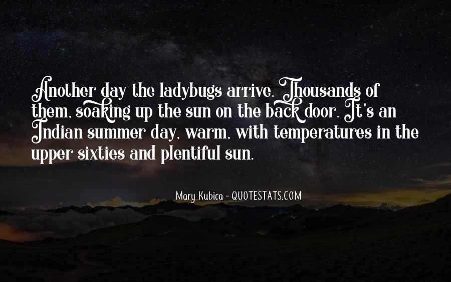 Sun Soaking Quotes #1592459