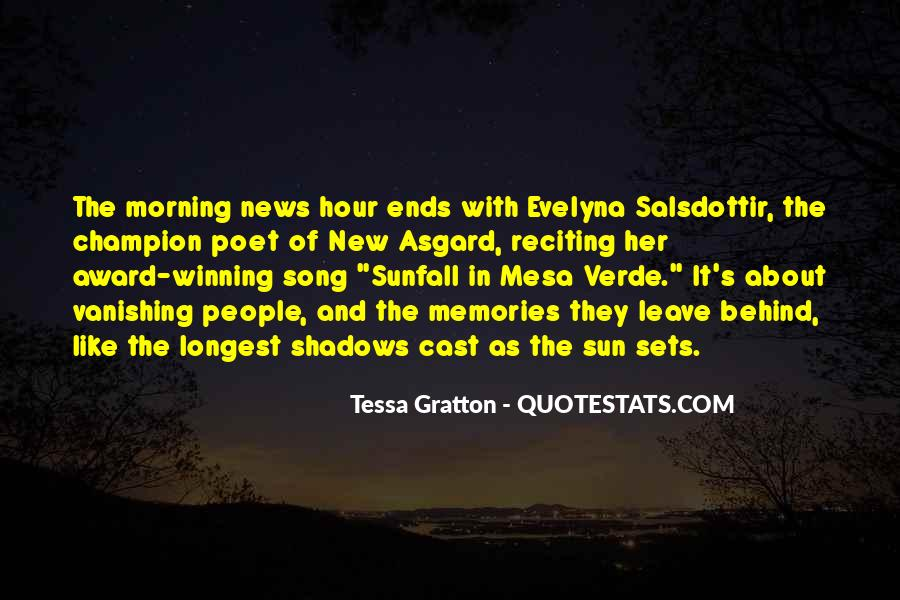 Sun Song Quotes #1305879