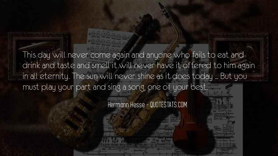 Sun Song Quotes #277482