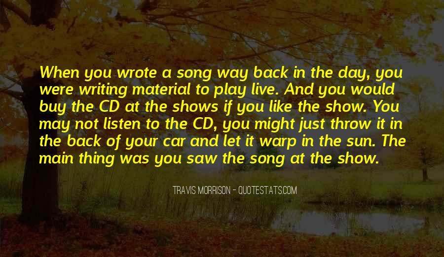 Sun Song Quotes #843185
