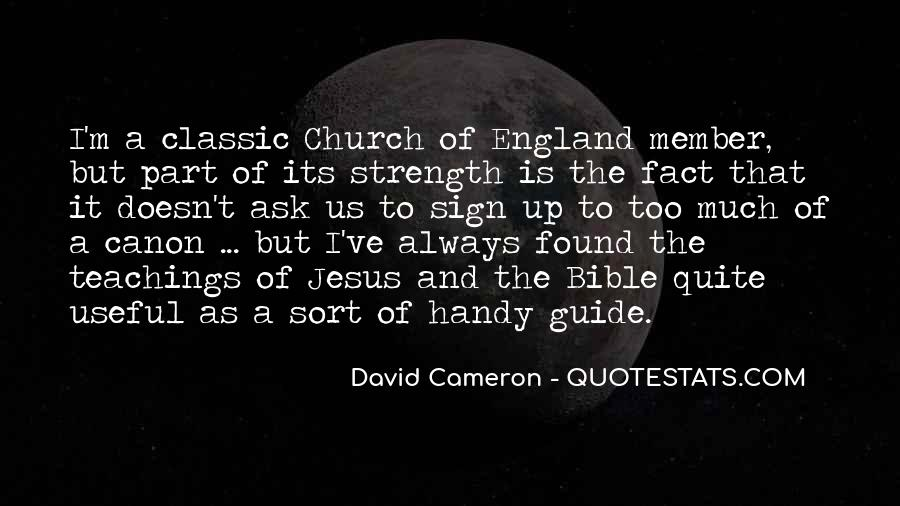 Quotes About David Cameron #132453