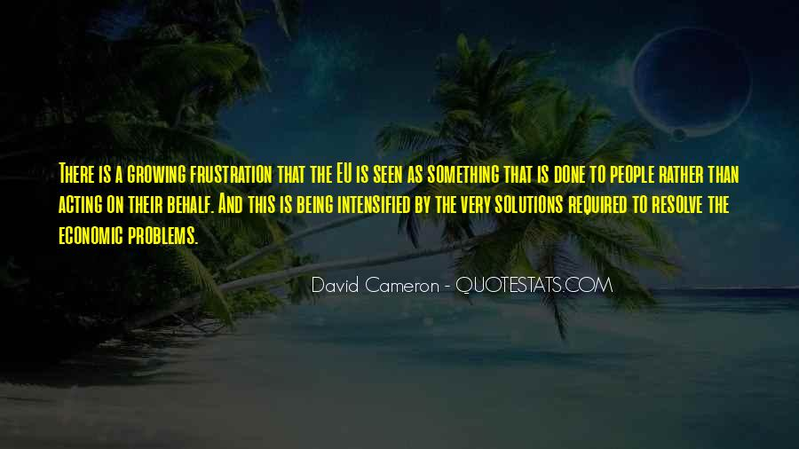 Quotes About David Cameron #237576