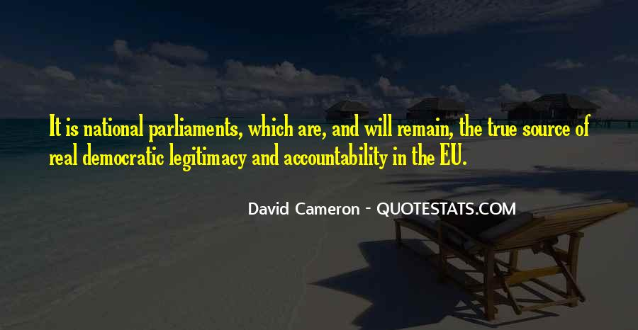 Quotes About David Cameron #244594