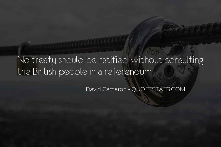 Quotes About David Cameron #349837