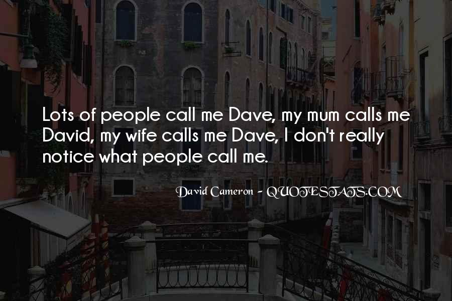 Quotes About David Cameron #375941