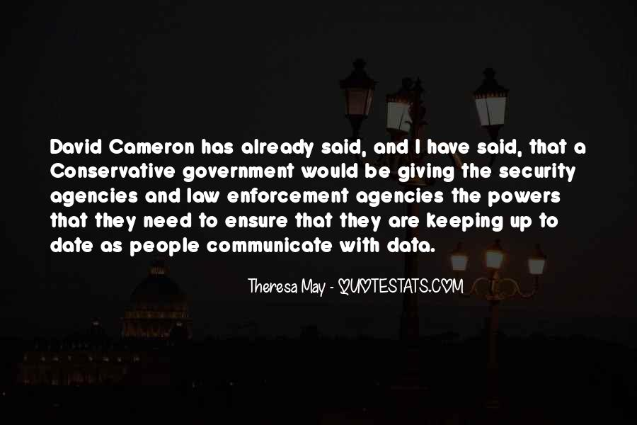 Quotes About David Cameron #412707