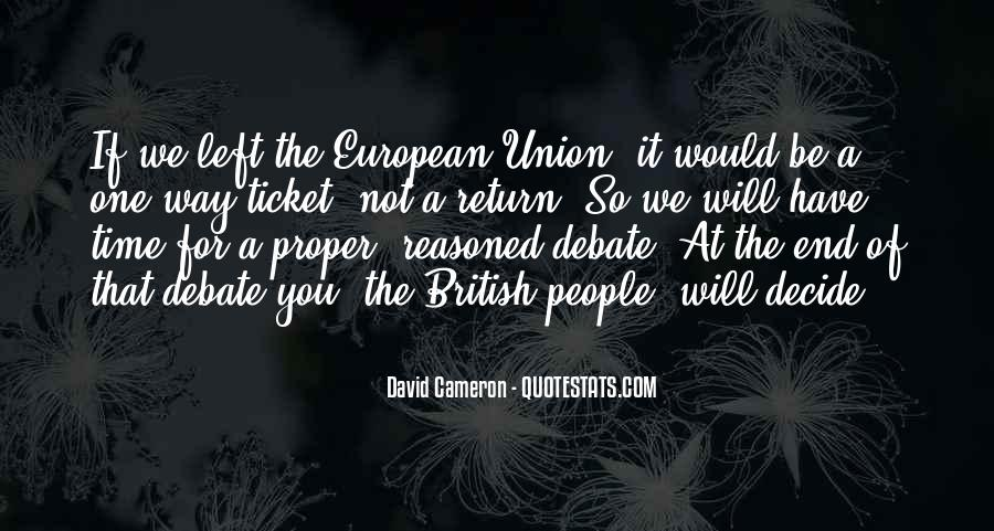 Quotes About David Cameron #431909