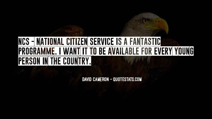 Quotes About David Cameron #481045