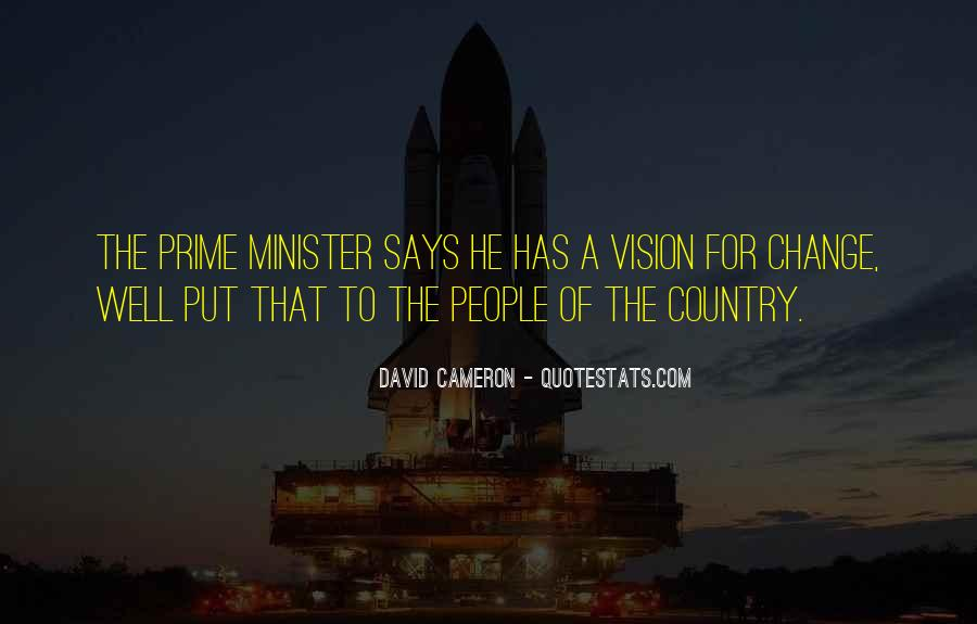 Quotes About David Cameron #489784