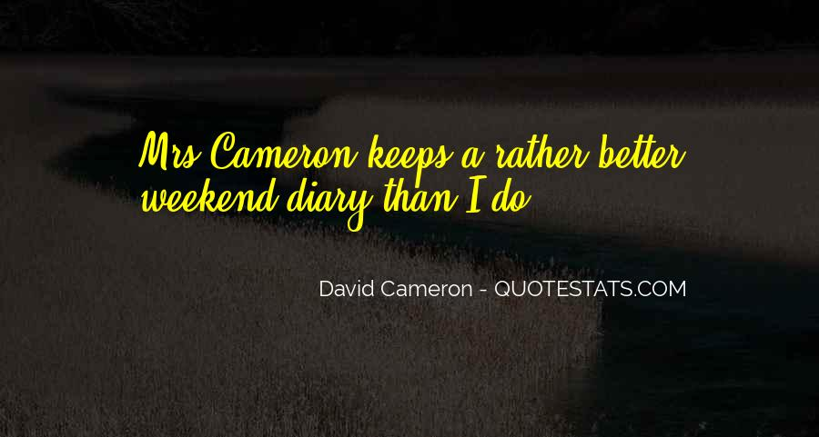 Quotes About David Cameron #497430