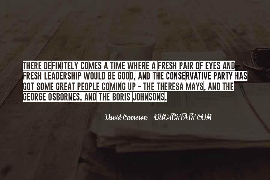 Quotes About David Cameron #515343