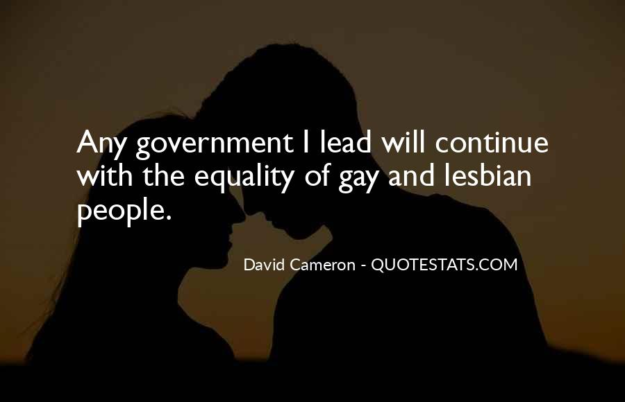 Quotes About David Cameron #543033