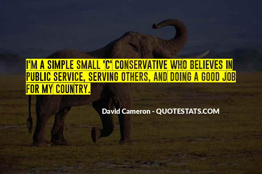 Quotes About David Cameron #60112