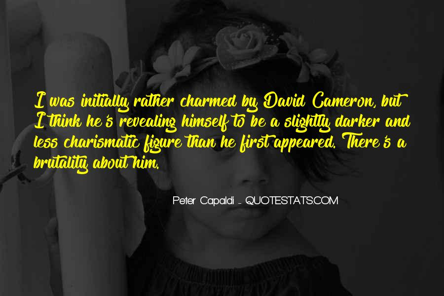 Quotes About David Cameron #712394