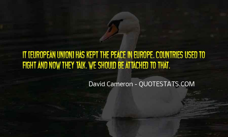 Quotes About David Cameron #739998
