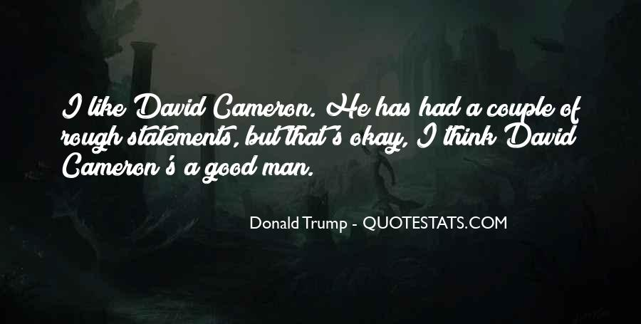 Quotes About David Cameron #744549