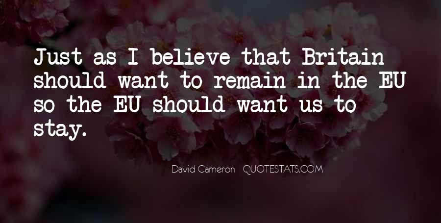 Quotes About David Cameron #768607