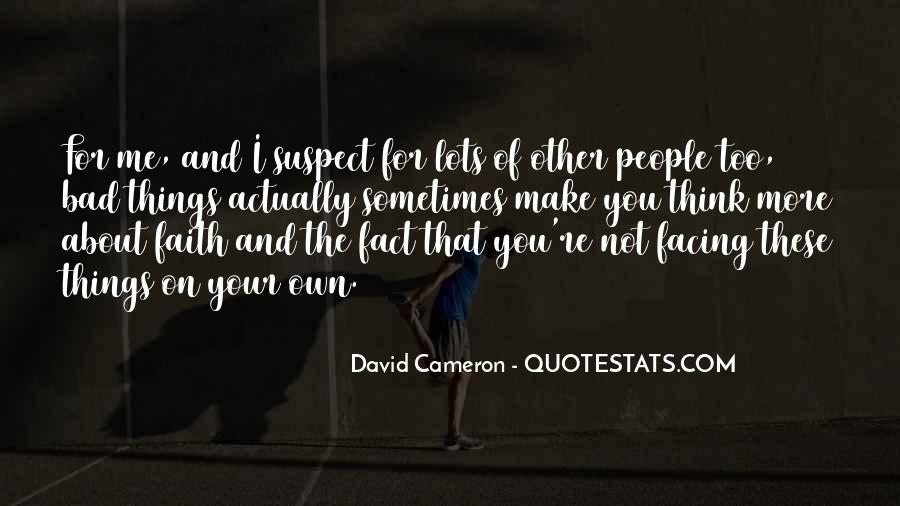 Quotes About David Cameron #819733