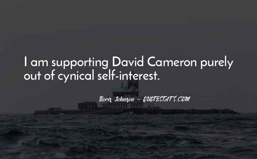 Quotes About David Cameron #842149