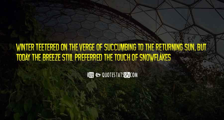 Sun Touch Quotes #1374312