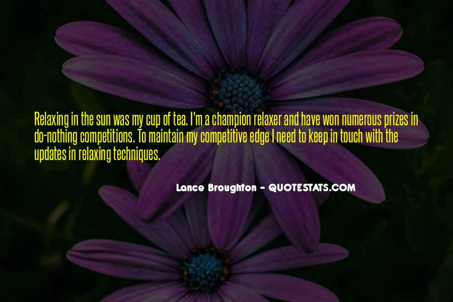 Sun Touch Quotes #1445302