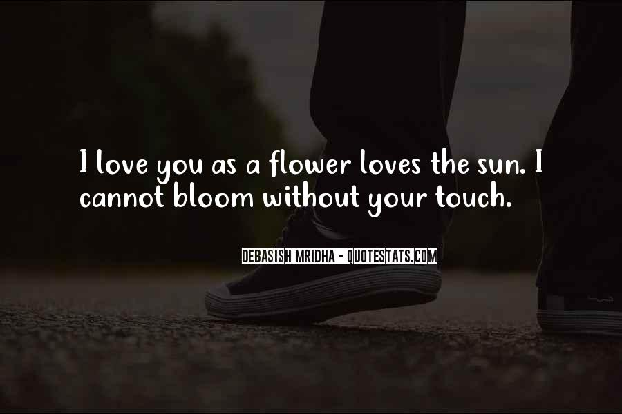 Sun Touch Quotes #1531269