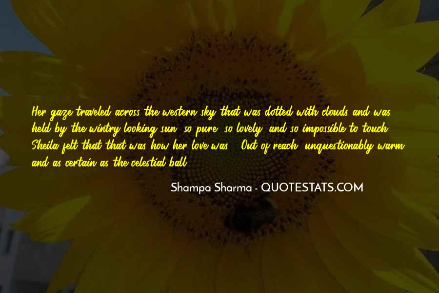 Sun Touch Quotes #1820184