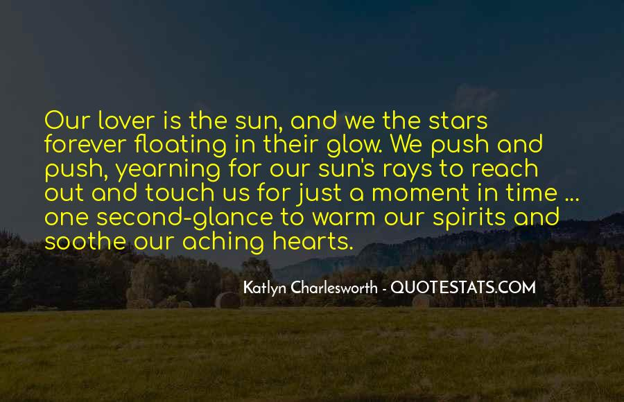 Sun Touch Quotes #298