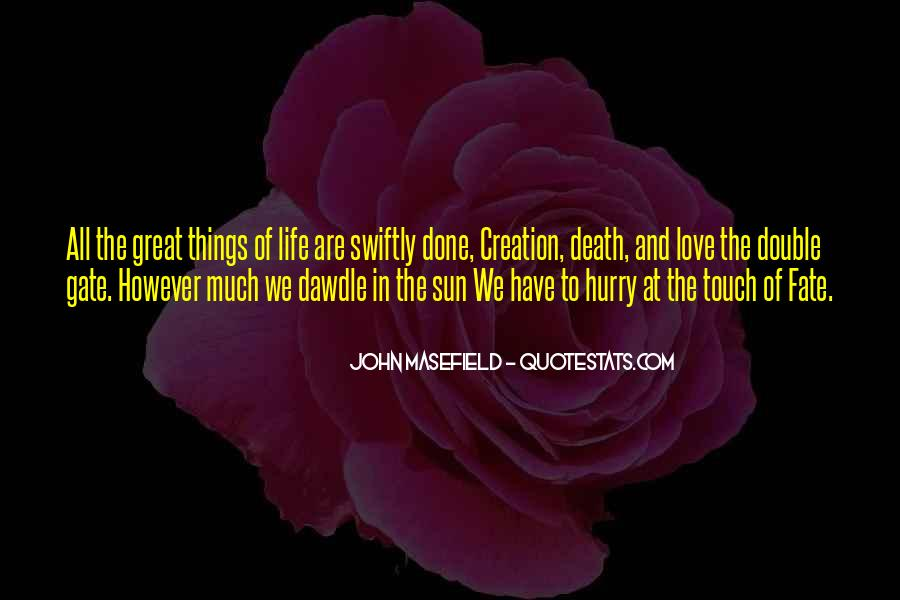 Sun Touch Quotes #484708