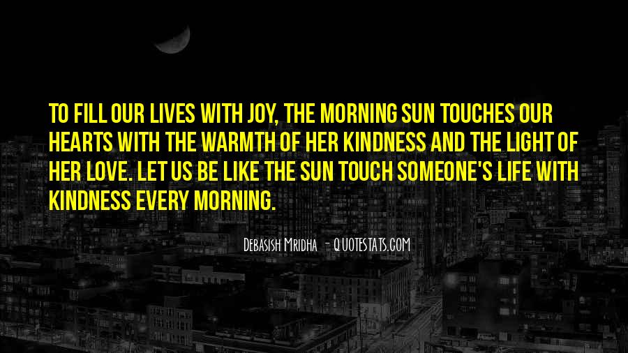 Sun Touch Quotes #534532