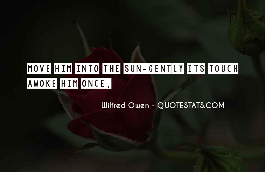 Sun Touch Quotes #64341