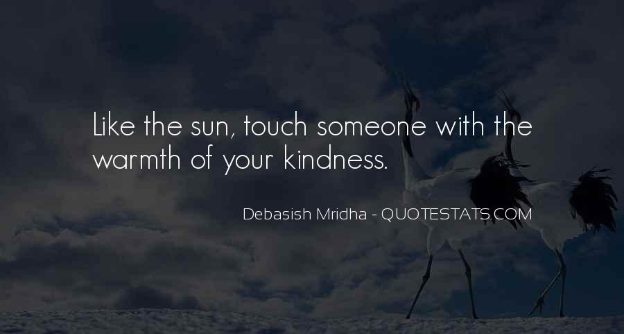 Sun Touch Quotes #973151