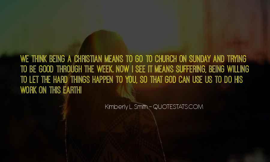 Sunday God Inspirational Quotes #1875192