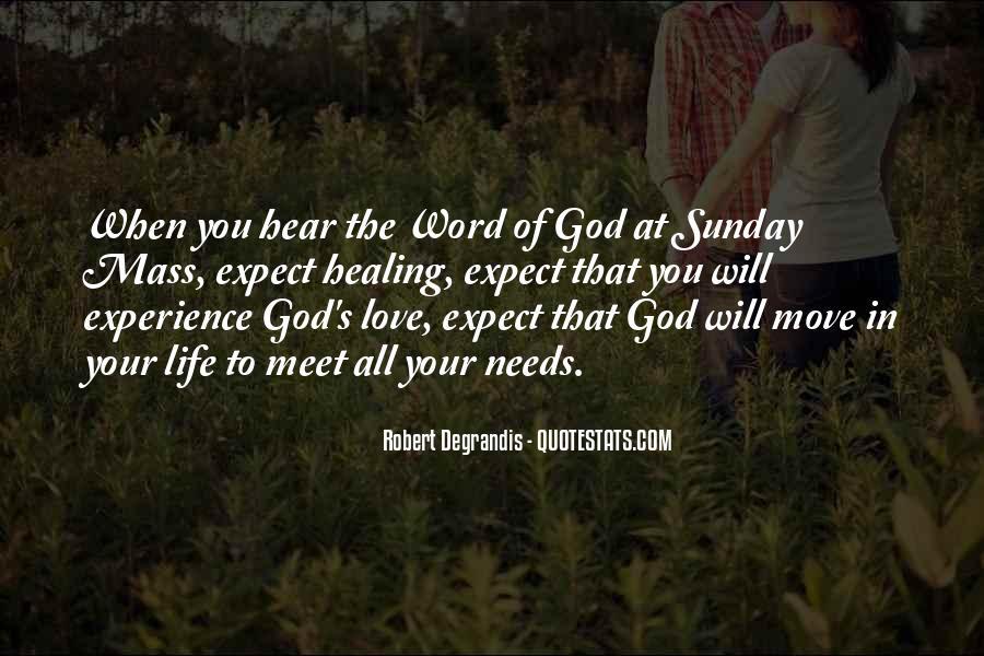 Sunday God Inspirational Quotes #80411
