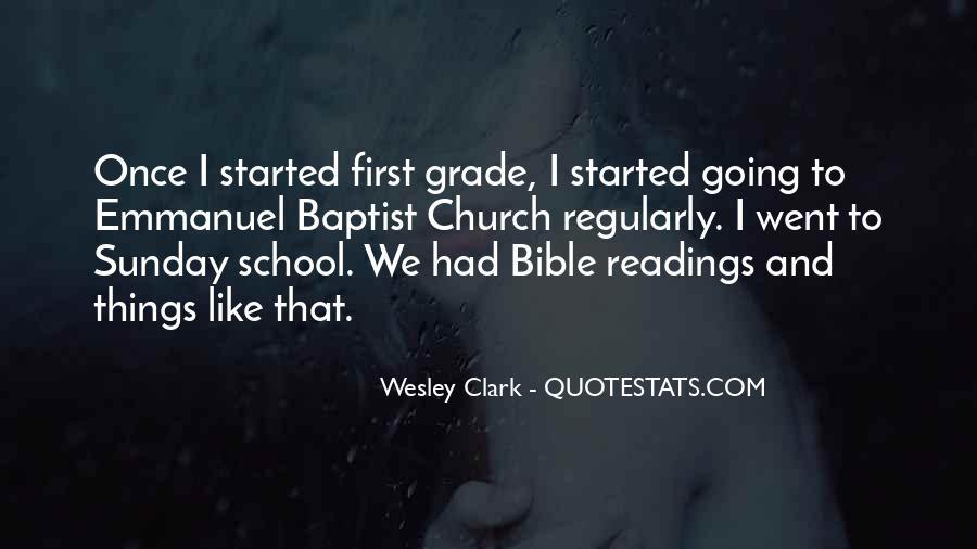 Sunday School Bible Quotes #1474290