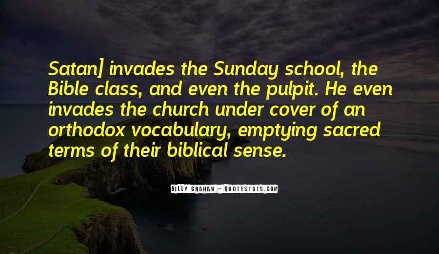 Sunday School Bible Quotes #194231