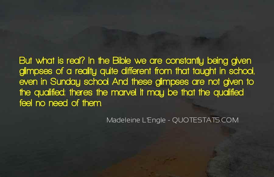 Sunday School Bible Quotes #596451