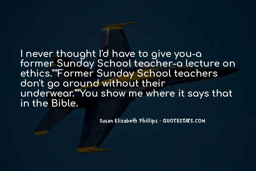 Sunday School Bible Quotes #922462